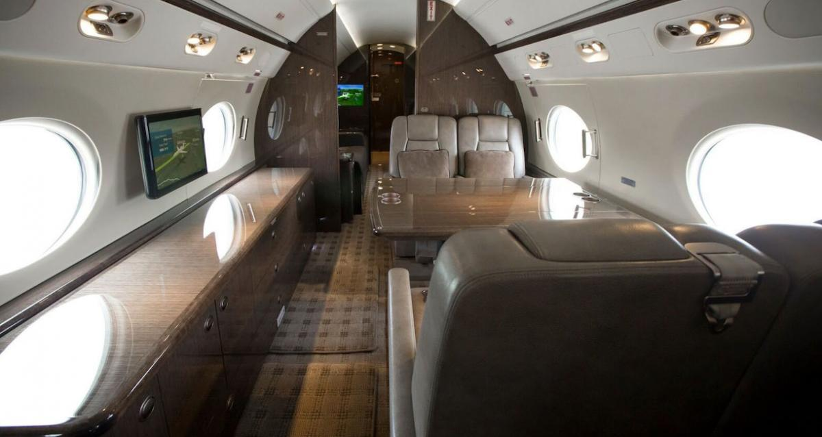 2014 Gulfstream G550 Photo 4