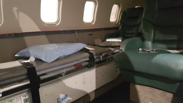 1985 LEARJET 55 Air Ambulance Equipment Available Photo 4