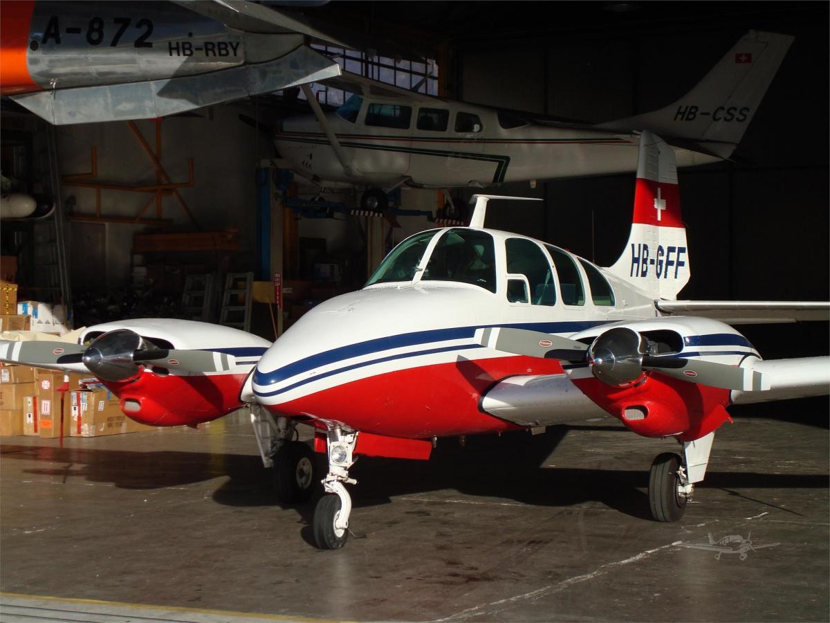 1964 BEECHCRAFT D95A TRAVEL AIR Photo 2