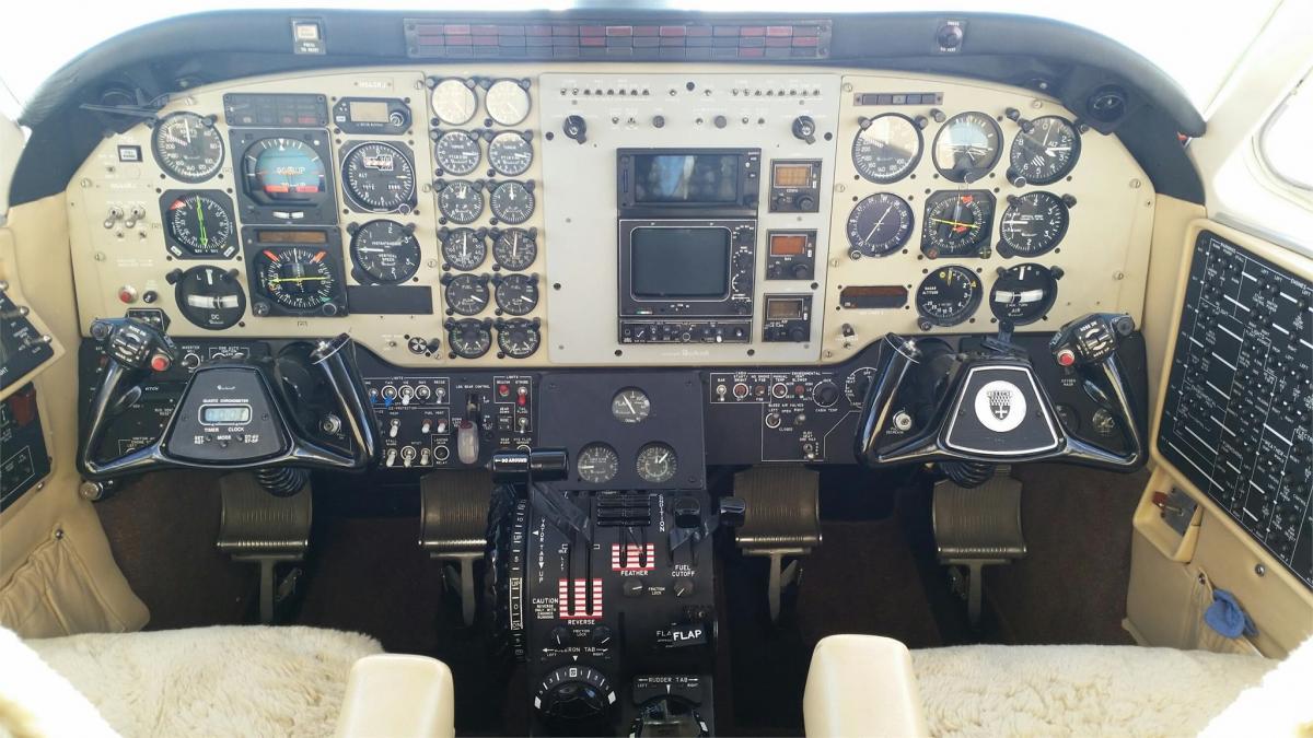 1985 BEECHCRAFT KING AIR C90A Photo 3