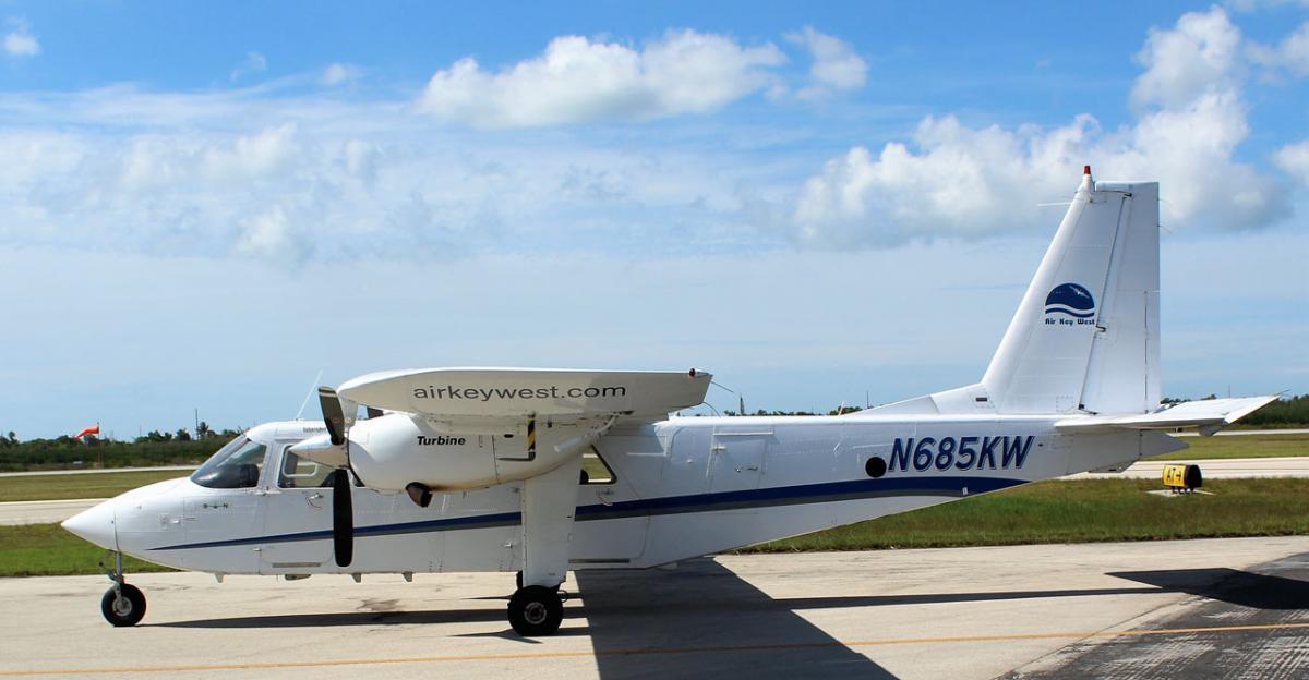 1983 Britten Norman Islander BN-2T Photo 2