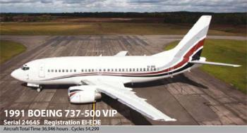 1991 Boeing 737-500 VIP for sale - AircraftDealer.com