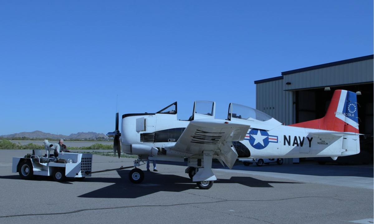 1952 North American T-28 B Photo 6