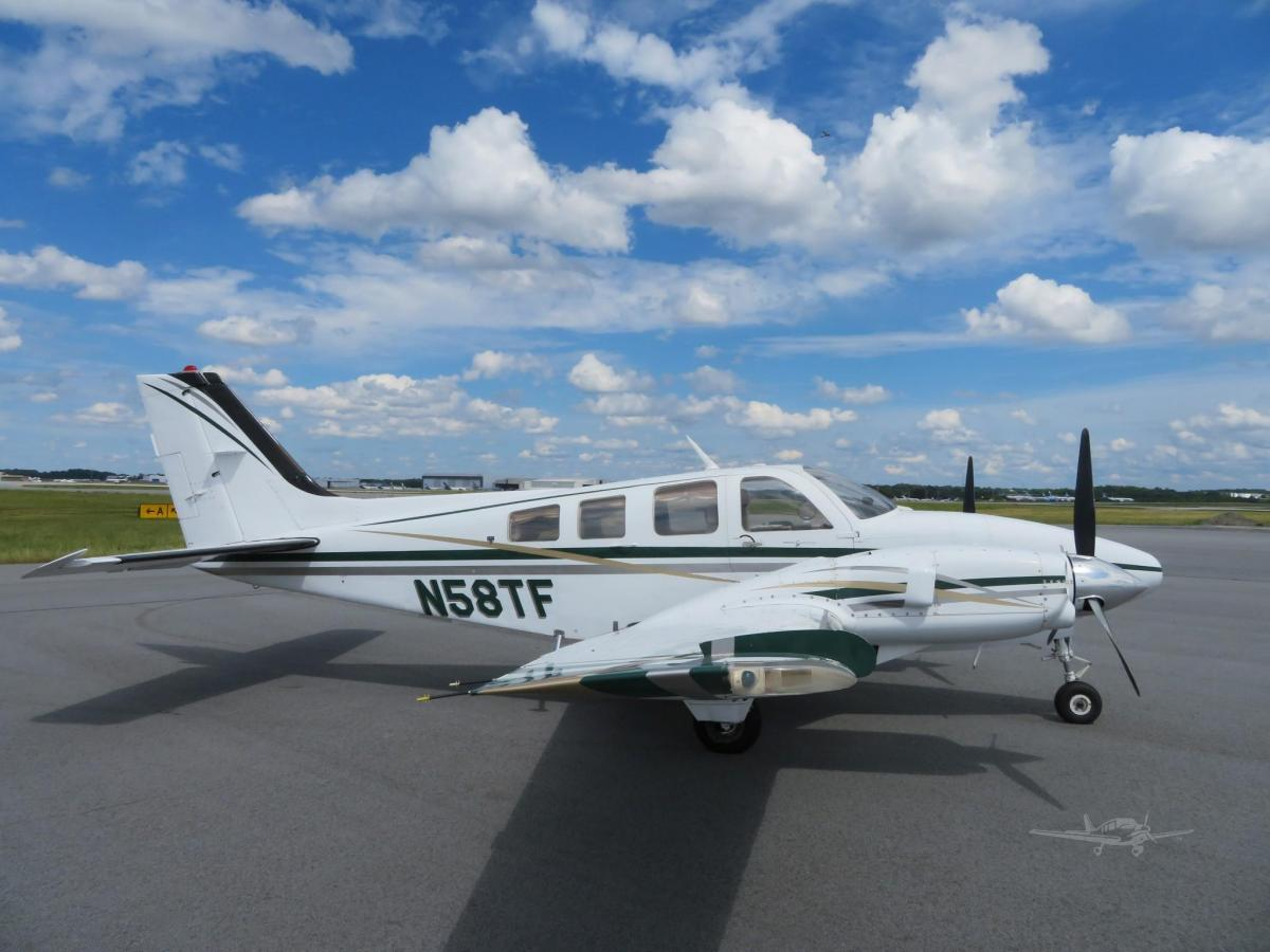 1980 BEECHCRAFT 58P BARON Photo 2