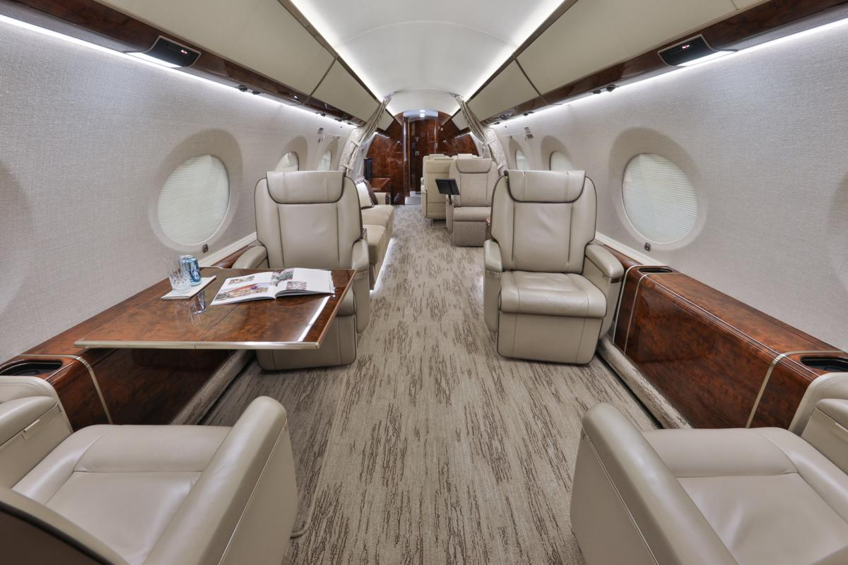 2015 Gulfstream G650ER Photo 3