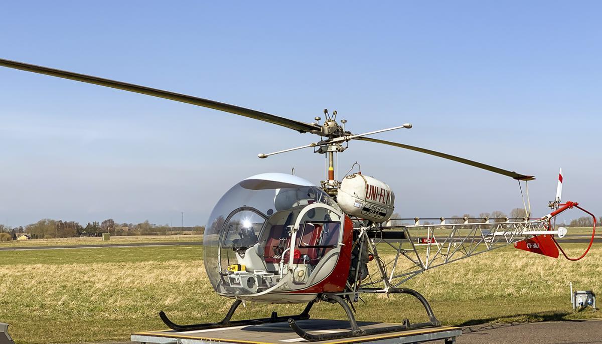 1970 Bell 47 G5 Photo 3