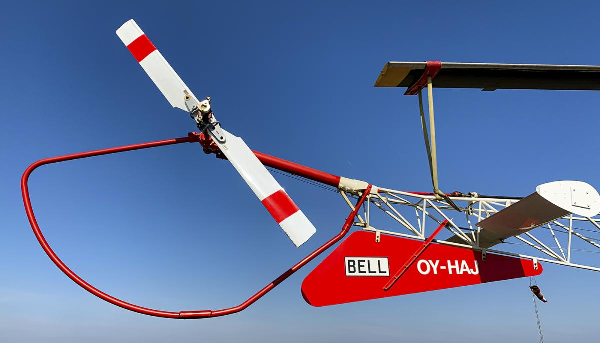 1970 Bell 47 G5 Photo 5