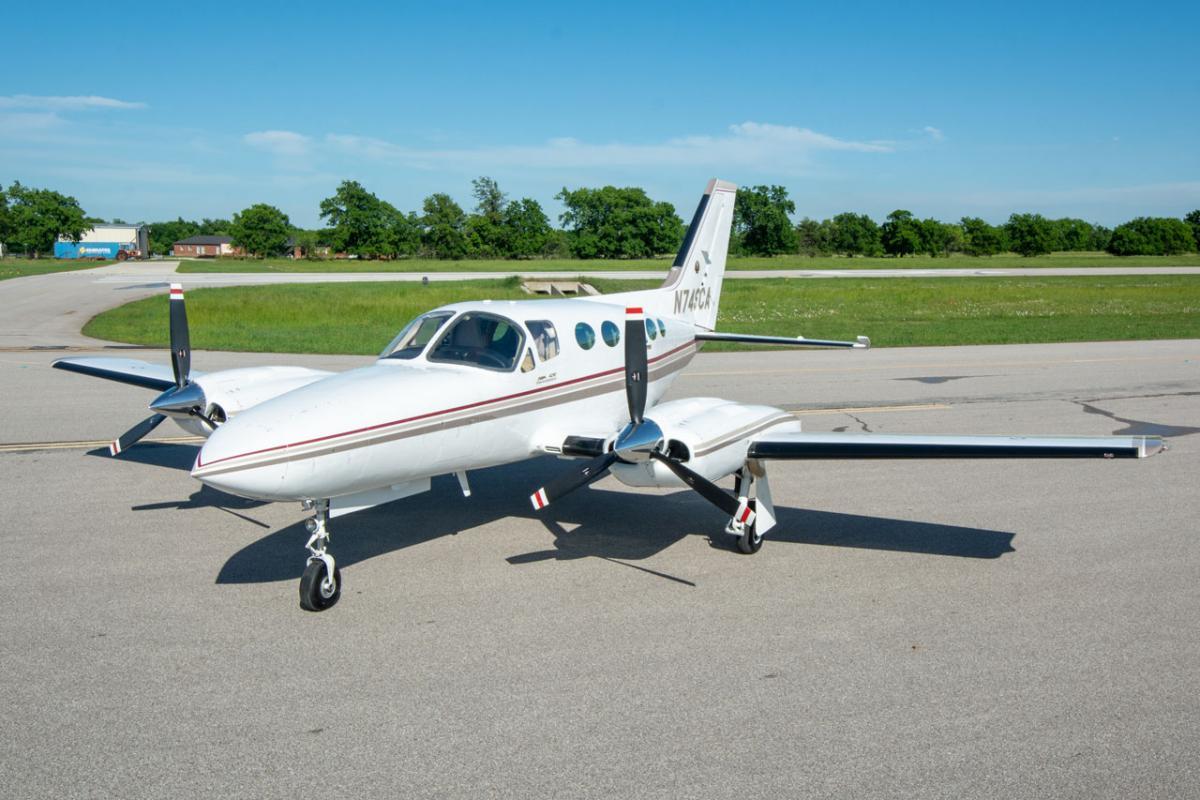 1982 Cessna 421C Photo 4