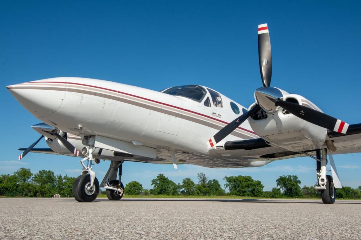 1982 Cessna 421C Photo 3