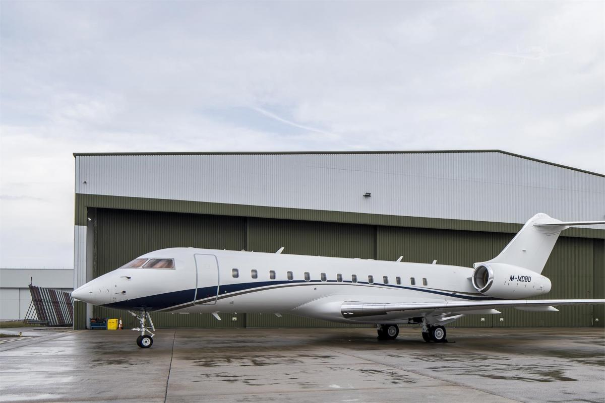 2001 BOMBARDIER GLOBAL EXPRESS Photo 2
