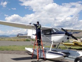 1973 Cessna 180 Float Plane for sale - AircraftDealer.com