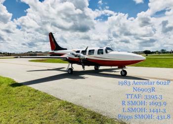 1983 AEROSTAR 602P for sale - AircraftDealer.com