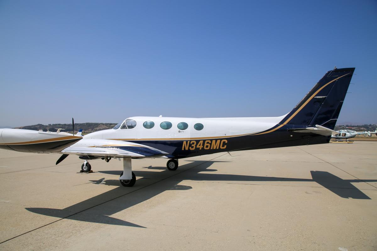 1976 Cessna 414 Photo 4