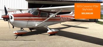 1973 Cessna 172M Skyhawk for sale - AircraftDealer.com