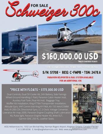 1995 SCHWEIZER 300C  for sale - AircraftDealer.com