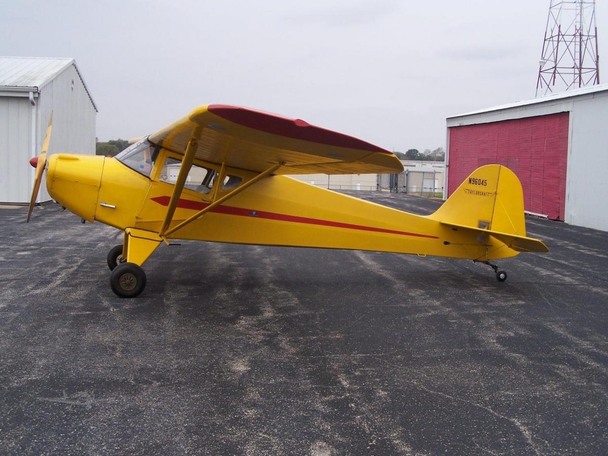 1946 Taylorcraft BC-12D  Photo 2