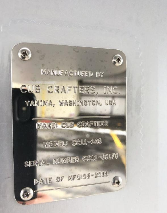 2011 CUBCRAFTERS CC11-160 CARBON CUB SS Photo 6