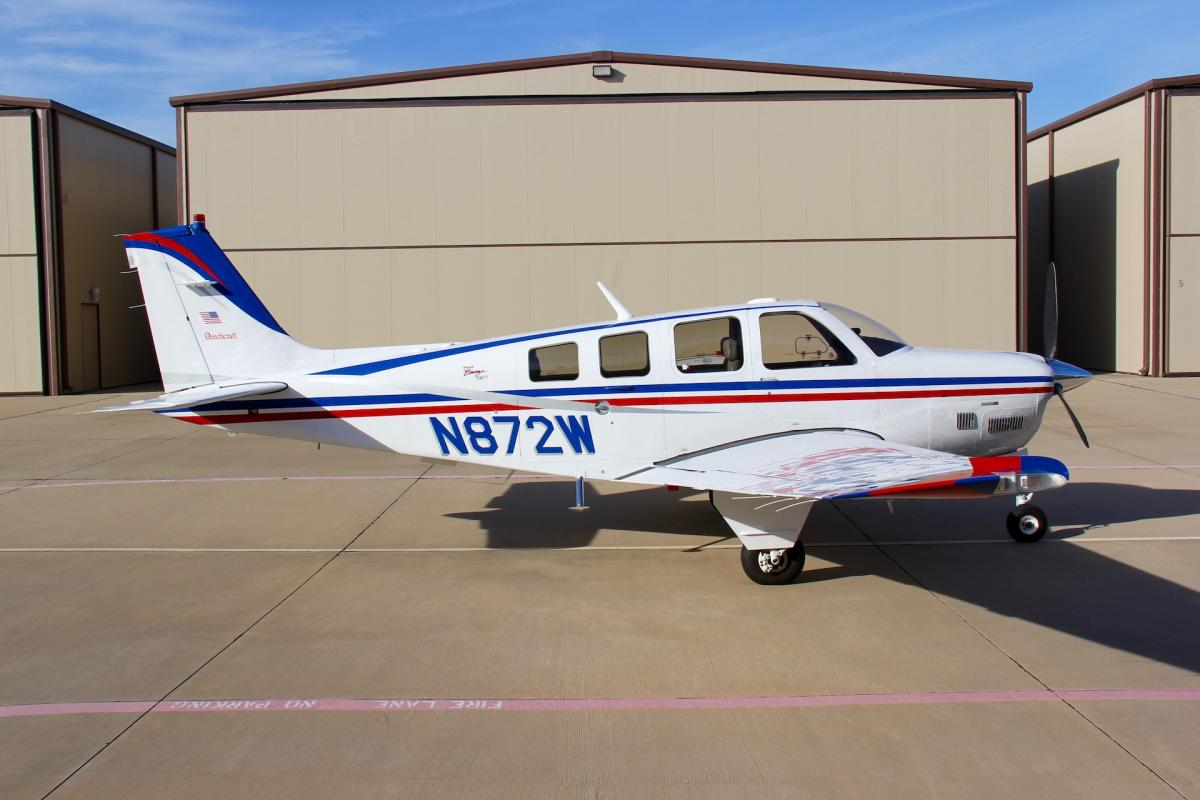 2001 Beech B36TC Bonanza Photo 2
