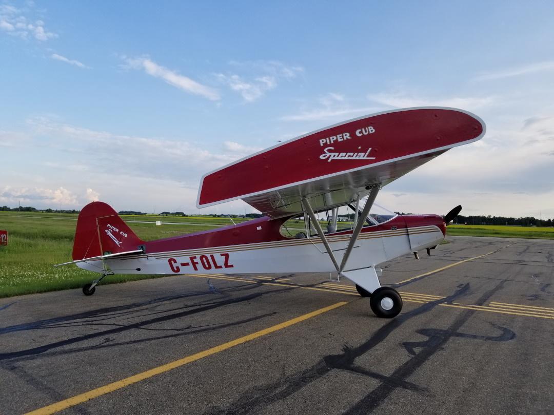 1947 Piper PA-11 Cub Photo 3
