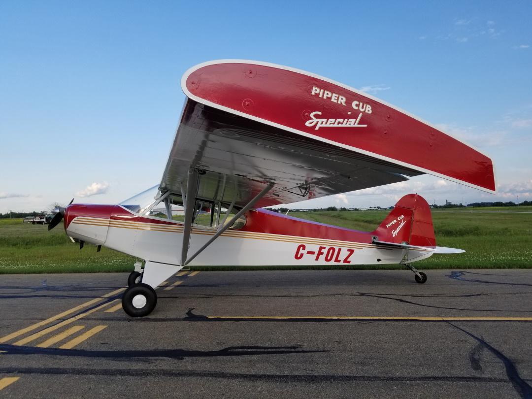 1947 Piper PA-11 Cub Photo 2