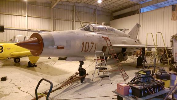 1974 MiG 21UM Photo 5