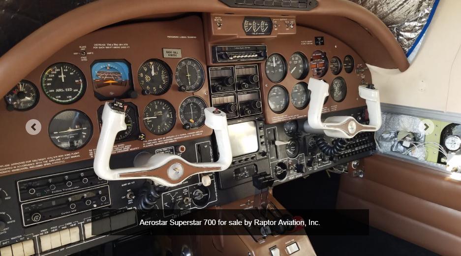 1979 Piper Aerostar Machen 700 Superstar Photo 4
