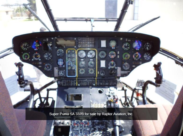 1982 Super Puma SA 332 B1 Photo 5