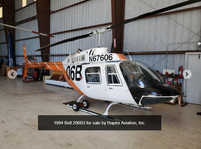 1994 Bell 206B3 606 Photo 2