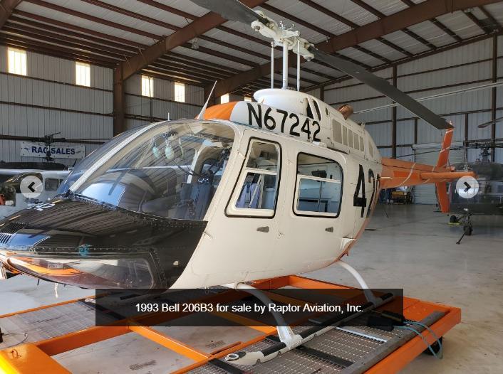 1993 Bell 206B3 242 Photo 2