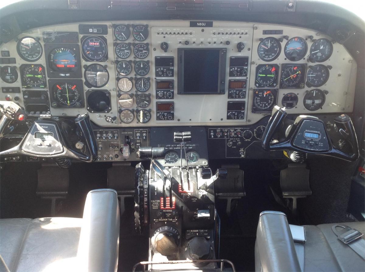 1985 BEECHCRAFT KING AIR C90A Photo 4