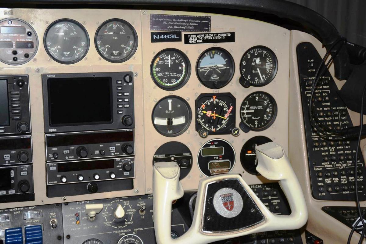 1978 Beechcraft B60 Duke BLR Grand Duke Package Photo 6