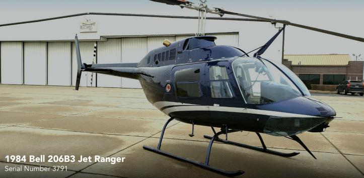 1984 Bell 206B3 Jet Ranger - Photo 1