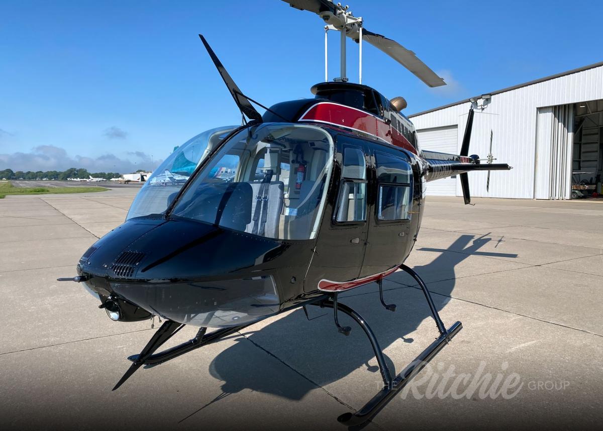 1988 Bell 206B-3 Jetranger Photo 2