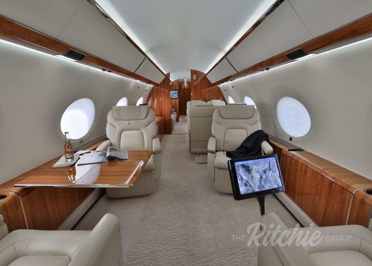 2013 Gulfstream G650 Photo 7