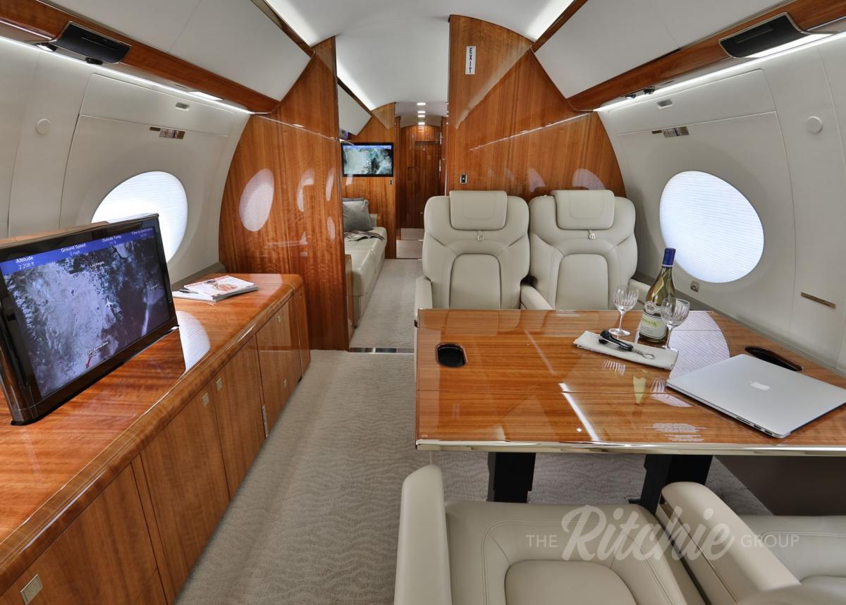 2013 Gulfstream G650 Photo 2