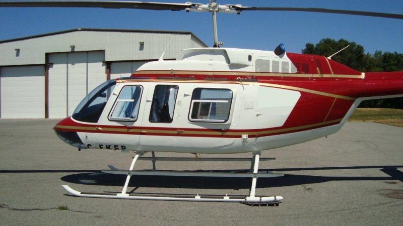 1975 Bell 206L LongRanger Photo 2