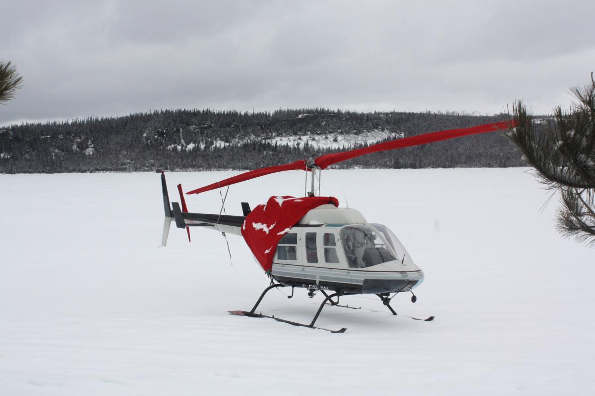 1976 Bell 206L Long Ranger Photo 2