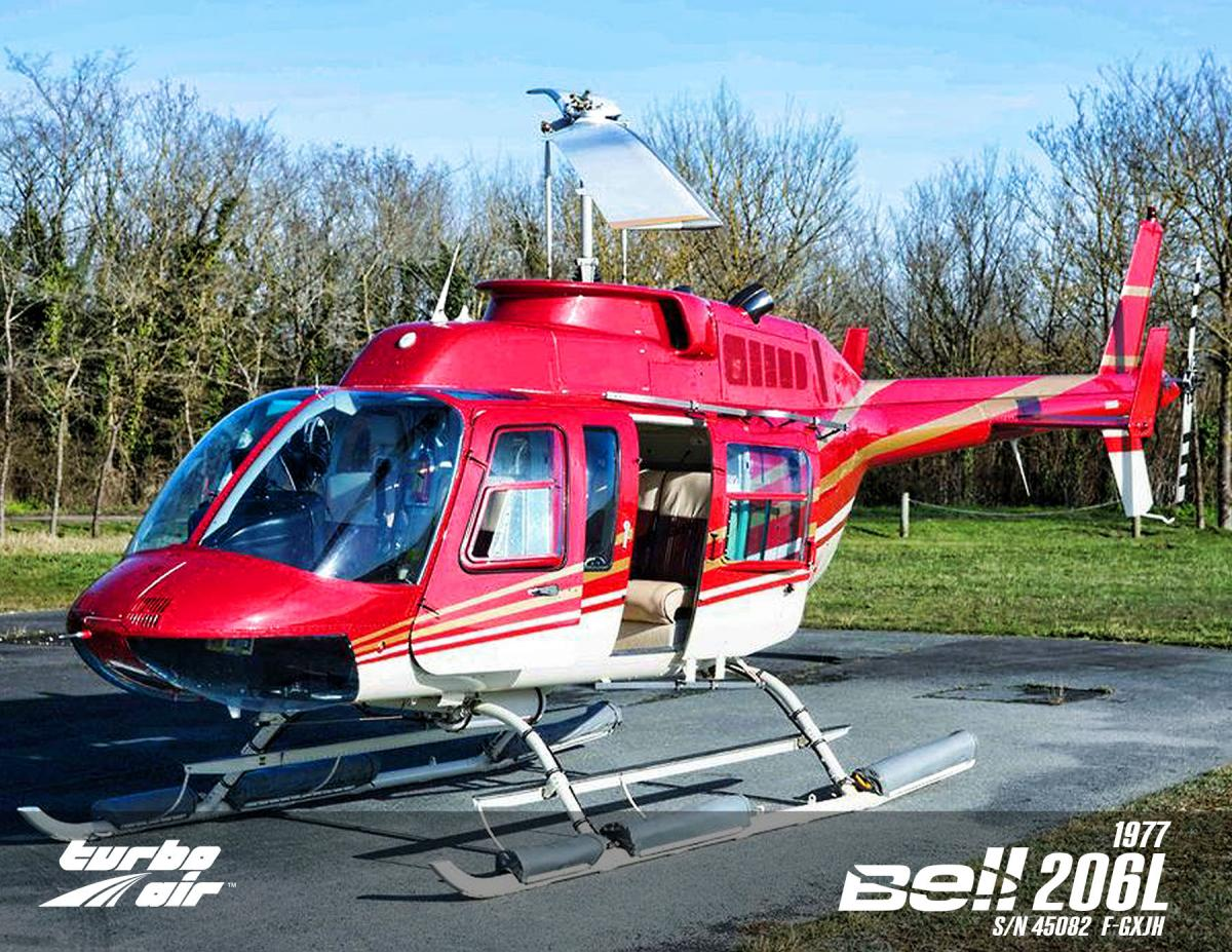 1977 Bell 206L Longranger Photo 2
