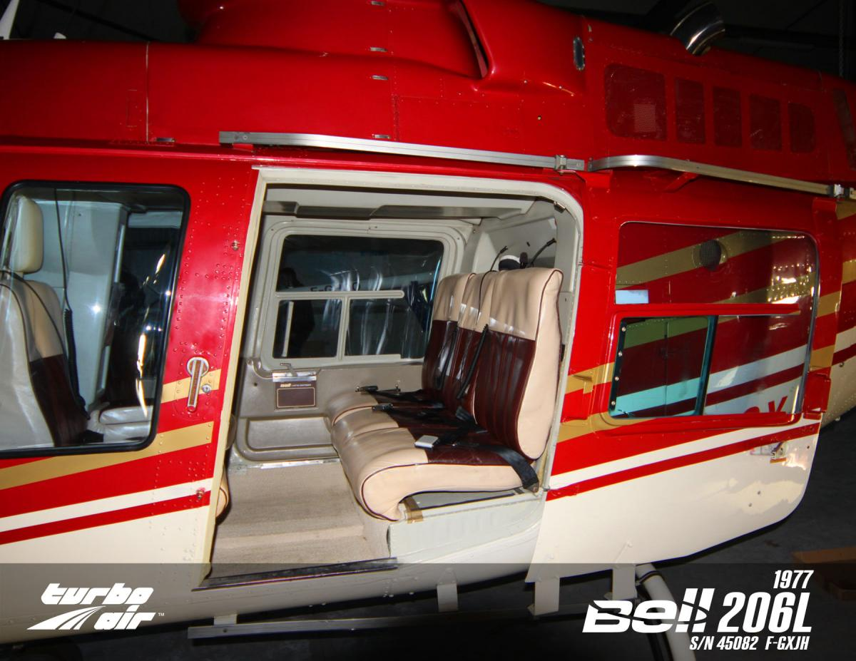 1977 Bell 206L Longranger Photo 3